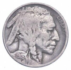 1918-S Indian Head Buffalo Nickel *608