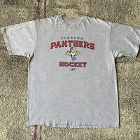 Reebok NHL Florida Panthers Hockey Jersey Shirt Mens Large
