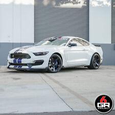 "19"" PROJECT 6GR FIVE R-SPEC 11/11.5 GLOSS BLACK WHEELS FOR MUSTANG GT350 GT350R"