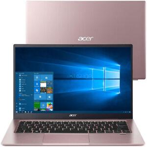 Acer Swift 1 SF114-34 Laptop Pentium Silver N6000 4GB 256GB Win 10 NX.A9UEK.002