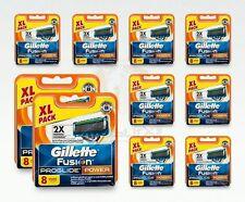 Gillette Fusion ProGlide Power Rasierklingen 80 Stück Original Klingen OVP