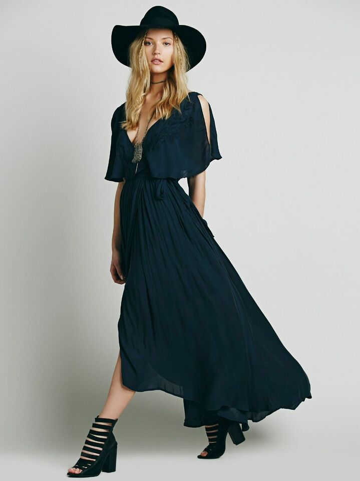 829241cab73 See How Much You Could Get for Your Free People Polyester Festive Maxi  Dresses for Women