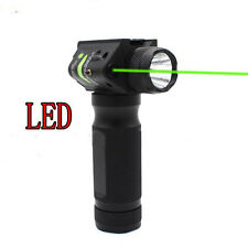 Combo Strobe CREE Q5 Flashlight/Green Laser Sight/Vertical Foregrip Rifle Scope