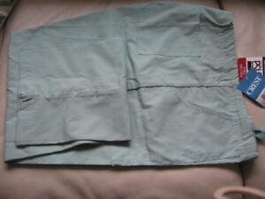 Crest Scrub Pants Sage Green NWT