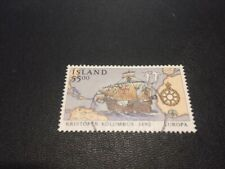 Iceland stamp 750 used