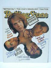 Autographs-original Entertainment Memorabilia Sould Asylum All 4 Signed Autographed Magazine Cover Photo Psa Bas Guaranteed At All Costs