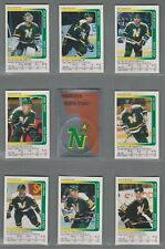 1991-92 Panini Stickers Minnesota North Stars Complete Team Set (15)