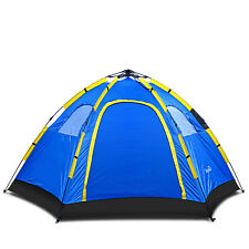 Outdoor Large 4 Person Hiking Camping Automatic Instant Pop up Family Tent