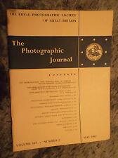 The Photographic Journal Vol 107 No 5 May 1967