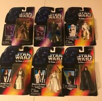 STAR WARS POWER OF THE FORCE & SHADOWS OF THE EMPIRE ACTION FIGURE LOT - '95 '96