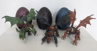 Mega Bloks Metal Ages Armoured Dragons & Eggs