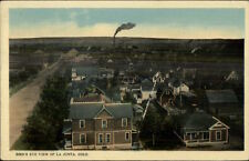 La Junta CO Birdseye View c1910 Postcard