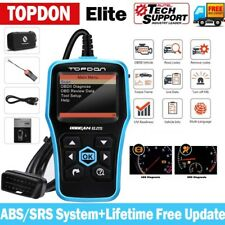 TD Elite Automotive ABS SRS Reset Scanner OBDII Code Reader Diagnostic Scan Tool