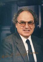 Herbert Hauptman 1985 Nobel Prize Chemistry Signed Autograph Photo