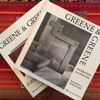 Greene & Greene 2 Volume Set: Architecture as a Fine Art & Furniture Designs