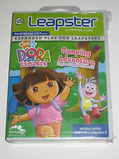 Leapster & Leapster 2 Dora The Explorer Camping Adventures Learning Game  NEW