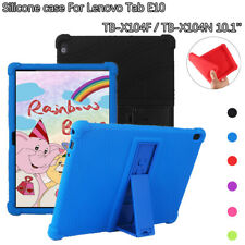Kids Safe Case For Lenovo Tab E10 TB-X104F/N 10.1'' Silicone Stand Tablet Cover