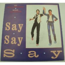 "McCARTNEY/JACKSON say say say/ode to a koala bear SP 7"" 1983 Emi"
