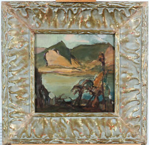 Oil/Panel Canadian School Attr. to Frederick Varley (1881–1969) Group of Seven