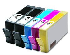 5 NON-OEM INK HP 564XL PHOTOSMART 7525 B8550 C309 C5380 C6300 C6340 C6350 C6375