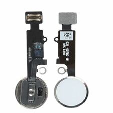 For iPhone 7 / 7 Plus Silver Home Button Flex Cable Touch ID Assembly