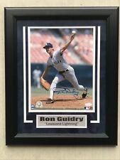 Ron Guidry New York Yankees Signed Framed 8x10 Photo Steiner Sports Cert