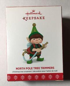 Hallmark Keepsake Ornament North Pole Tree Trimmers 5th Ornament 2017