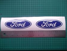 Ford...oval... vinyl decal sticker ....x4.