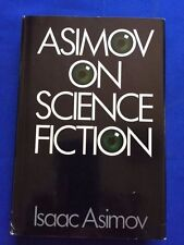 ASIMOV ON SCIENCE FICTION - FIRST EDITION BY ISAAC ASIMOV