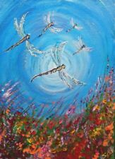 Acrylic Small (up to 12in.) Contemporary Art Art Paintings