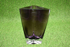 "LSA International Krosno Poland Purple Vase - 8-1/4"" Tall"