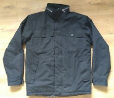 **Ex. Cond** Mens Black Easy Jacket with Foldaway Hood - Small