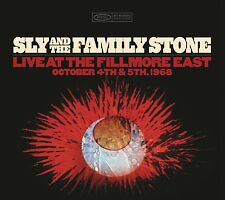 SLY&THE FAMILY STONE-LIVE AT THE FILLMORE EAST OCTOBER 4TH & 5TH 1968 4 CD NEUF