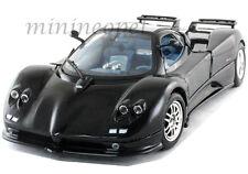 MOTORMAX PAGANI ZONDA C12-S7.3 C12 S 7.3 1:18 DIECAST BLACK