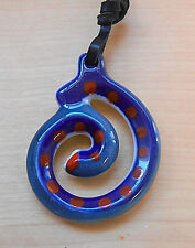 Sargadelos Porcelain Charm Necklace -Protection from Harm - NEW
