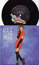 """KYLIE MINOGUE - GOT TO BE CERTAIN Very rare 1988 OZ 7"""" PROMO P/S Single! M-"""