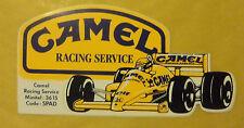VECCHIO ADESIVO - CAMEL RACING SERVICE - ANNI 80 (CC1)