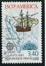 STAMP / TIMBRE FRANCE OBLITERE N° 2756 DECOUVERTE DE L'AMERIQUE