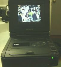 SONY GV-A500 HI8 8MM VIDEO WALKMAN VCR WORKS GREAT FOR 8MM TO TRANSFER VIDEO DVD