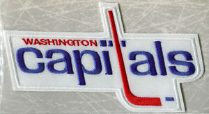 Willabee & Ward 1975 WASHINGTON CAPITALS NHL THROWBACK HOCKEY PATCH Patch Only