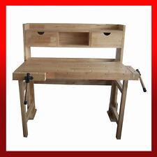 WNS Wooden Foldable Workbench Garage Workshop Craft Hobby Joiner Carpentry