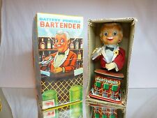 TN JAPAN ROSKO TESTED 0350 BARTENDER BATTERY - MARTINI - H30.0cm - GOOD IN BOX