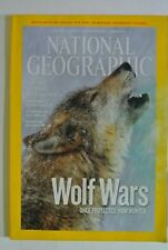 National Geographic Magazine. March, 2010. Wolf Wars. Once protected now hunted