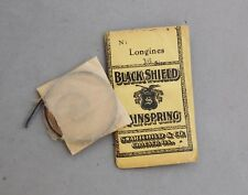 Longines Watch Part Mainspring Size 16 Swarthchild Chicago Antique Repair New