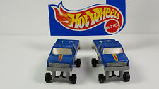 1991 Hot Wheels Ford BIGFOOT lot of 2 Rare Vintage Blue Monster Truck