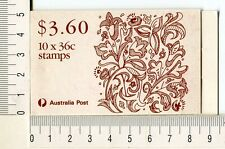 41210) Australia 1989 MNH QEII 36c (x10) Christmas Booklet