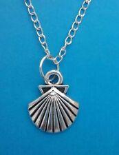 Tibetan Silver Shell Costume Necklaces & Pendants