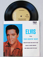 Elvis Presley Sings Your Cheatin' Heart ... RARE 4 Song EP * MINT *