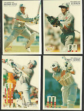 FUTERA 1996 WORLD CUP CRICKET NEW ZEALAND TEAM Set of 4 CARDS Cairns Astle