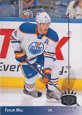 TAYLOR HALL 2013-14 UD SP Authentic 1993-94 SP Retro Card #93-19 Oilers